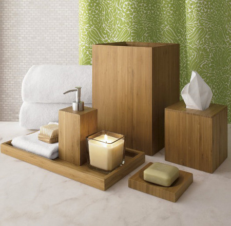 Bathroom d cor quickbath for Bathroom decor green and brown